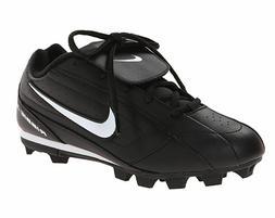 Nike Ribbie Jr  309303-011 Black White Lace-Up Baseball Clea