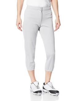 Intensity Women's Low Rise Double Knit Pant, Small, Grey