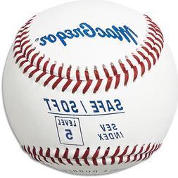 MacGregor Safe/Soft Baseballs, Junior, Level 5