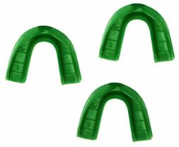 3 Pack! SafeTGard Adult Form Fit Super Mouthguard without St