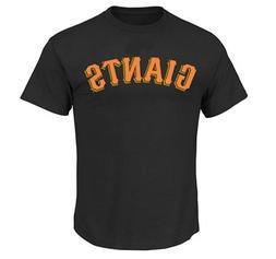 San Francisco Giants  MLB Men's Black Short Sleeve Graphic T