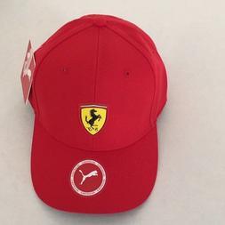 Puma sf fan wear baseball cap Rosso Corsa Adjustable Free sh
