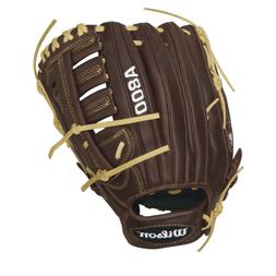 "Showtime 12.5"" Outfield Baseball Glove - Right-Handed Throwe"