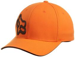 Fox Men's Signature Flexfit Hat, Orange, Large/X-Large