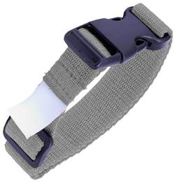 Adams Single Latch Laundry Belts  - Silver