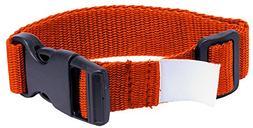 Adams Single Latch Laundry Belts  - Orange