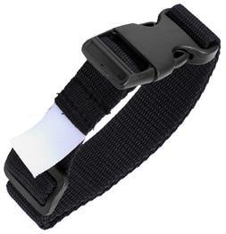 Adams Single Latch Laundry Belts  - Black