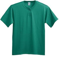 Augusta Sportswear MEN'S SIX-OUNCE TWO-BUTTON BASEBALL JERSE