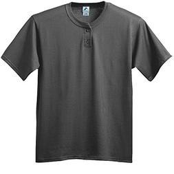 Augusta Sportswear BOYS' SIX-OUNCE TWO-BUTTON BASEBALL JERSE