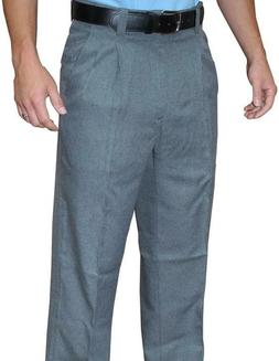 Smitty Heather Grey Umpire Pants 100% Polyester - Closeout P