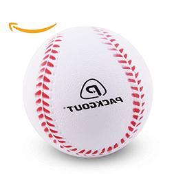 PACKGOUT Soft Baseballs, Foam Baseballs for Kids Teenager Pl