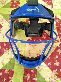 Champion Sports Youth Softball Fielder's Face Mask, Black