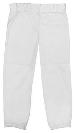 "Badger Ladies ""Big League"" Softball Pants - White - S"