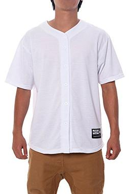 Victorious Solid Victorious Baseball Jersey BJ32 - WHITE - L