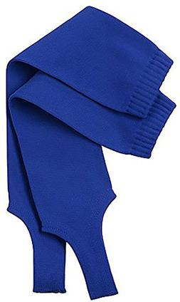 "TCK Sports Solid Color 7"" Baseball Stirrup Socks, Royal, Med"