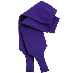"TCK Sports Solid Color 7"" Baseball Stirrup Socks, Purple, Me"