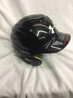 ede2c38b0cc Under Armour Solid Molded Batting Helmet Black Size One Size