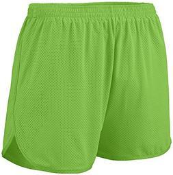 Augusta Sportswear 338 Men's Solid Split Short, X-Large, Lim