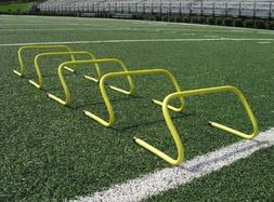 SS Sports Speed Agility Hurdle Training Set of 6 Soccer Foot