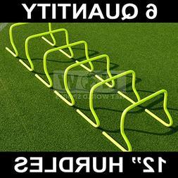 """12"""" SPEED HURDLES  - Football/Soccer/Multi Sport Speed Train"""