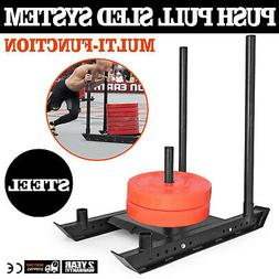 Speed Sled System Push Pull Drag Power Speed Weight Workout