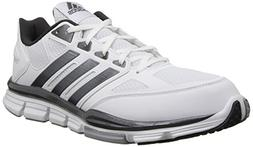 Adidas Men's Speed Trainer Shoe , White/Carbon, 12 M US