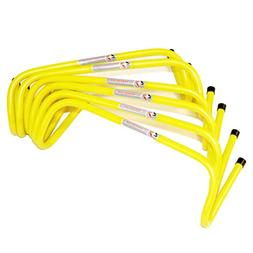 """Speedster 6"""" Mini Hurdles, 6pk with Carrying Strap - Speed &"""