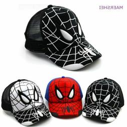 Spiderman Baseball Cap for Boys Summer Kids Summer Hat Casqu