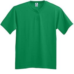 Augusta Sportswear Men's Two-Button Baseball Jersey