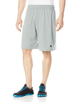 Russell Athletic Men's Stretch Performance Short, Grey/Silve