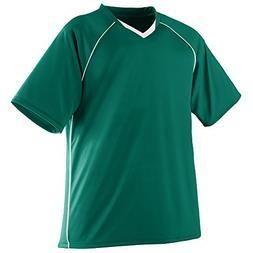Augusta Sportswear BOYS' STRIKER JERSEY S Dark Green/White