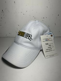 SUBWAY  Men's Baseball Cap Hat  New With Tags  Performance Q