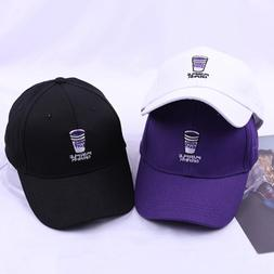Summer Brand New Cotton Hat <font><b>Youth</b></font> Purple