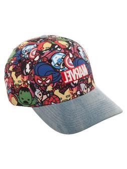 Marvel Super Heroes Unisex Baseball Cap/Hat Adjustable
