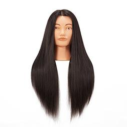 "Hairginkgo 26""-28"" Super Long Cosmetology Mannequin Manikin"