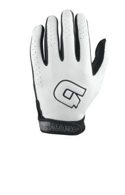 DeMarini Women's Superlight Batting Glove, White, X-Large