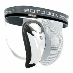 Shock Doctor Core Supporter BioFlex Cup, Adult , Large, Whit