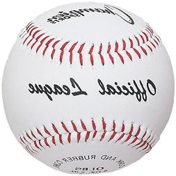 Champion Sports Syntex Leather Official League Baseball , Wh