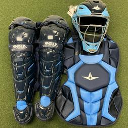 All-Star System 7 Axis TT Navy/Columbia 12-16 Catchers Gear
