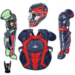 All Star System 7 Axis Youth 10-12 Catchers Gear Set - Navy