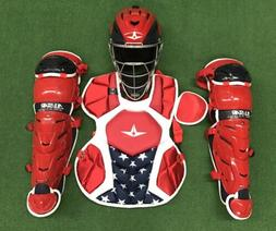 All Star System 7 Axis Youth 10-12 USA Catchers Gear Set - R