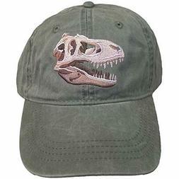 ECO Wear T-Rex Tyrannosaurus Dinosaur Embroidered Baseball C