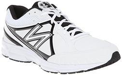 New Balance Men's T500 Turf Low Baseball Shoe,White/Black,12