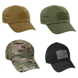 Tactical Operator Cap With US Flag Baseball Hat Rothco