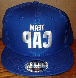 TEAM CAP BLUE ADJUSTABLE BASEBALL HAT CONBOX NEW CAPTAIN AME