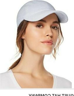 August Hat Company Terry Cloth Baseball Cap in Light Blue or
