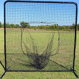 Cimarron Sports Training Aids 7x7 #42 Sock Net and Frame