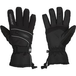 Rossignol Trend Glove - Women's Black/Silver Piping, L