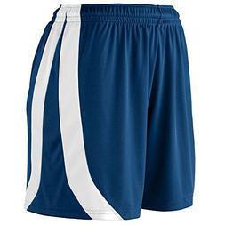 Augusta Sportswear Girls' TRIUMPH SHORT L Navy/White