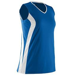 Augusta Sportswear WOMEN'S TRIUMPH SOFTBALL JERSEY M Royal/W